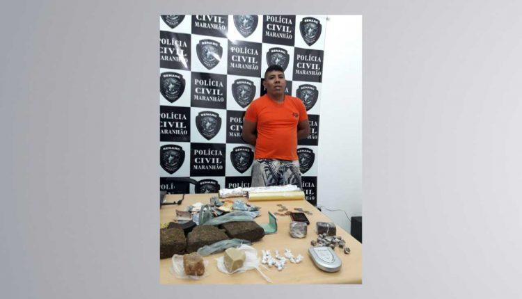 Polícia Civil: Senarc apreende mais de 2kg de drogas em Timon