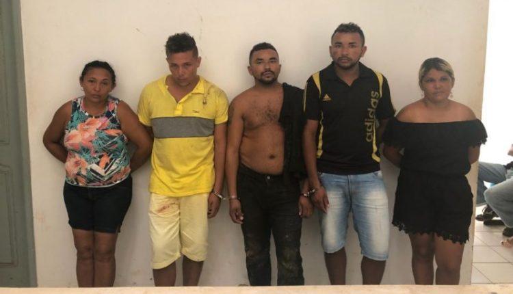 OPERAÇÃO INTEGRADA DE SEGURANÇA RESULTA EM CINCO PRISÕES POR TRÁFICO DE DROGAS NAS CIDADES DE MATINHA E OLINDA NOVA