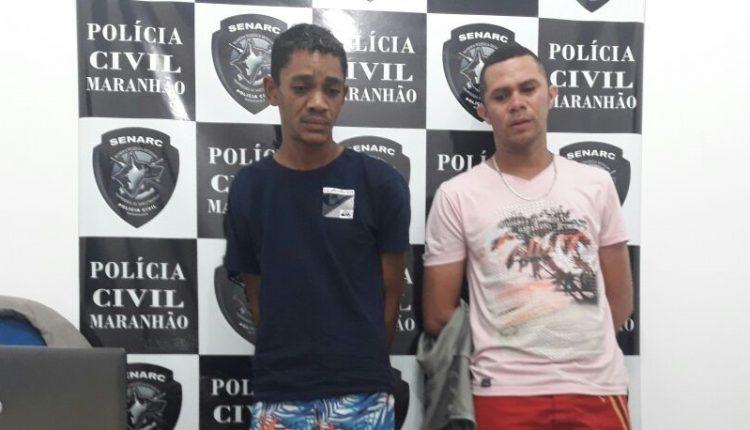 POLÍCIA CIVIL POR MEIO DA SENARC DE TIMON E DELEGACIA REGIONAL DE HOMICÍDIOS, PRENDE DOIS TRAFICANTES DE DROGAS