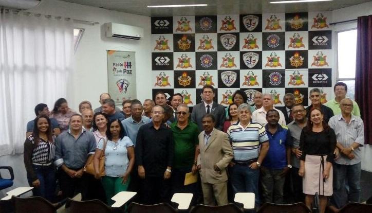 Cúpula da SSP recebe homenagens de aposentados e contratados da Polícia Civil do Maranhão