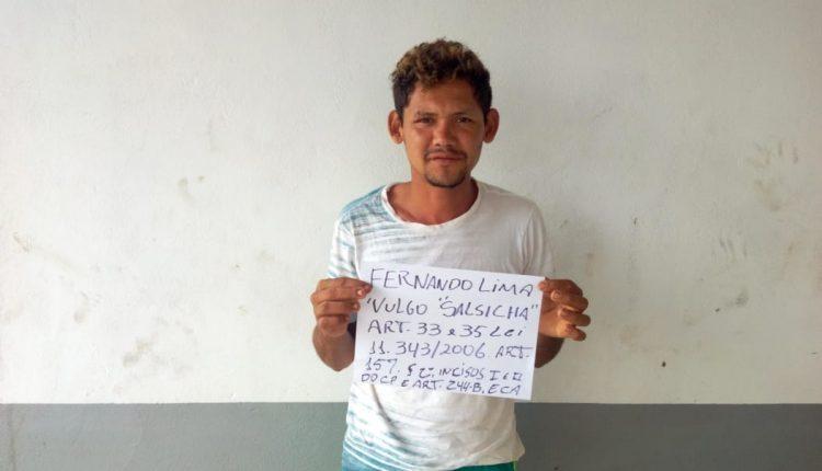 POLÍCIA CIVIL PRENDE CASAL SUSPEITO PELO CRIME DE TRÁFICO DE DROGAS EM MARACAÇUMÉ