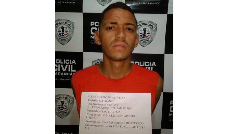 POLÍCIA CIVIL DEFLAGRA OPERAÇÃO POLICIAL E PRENDE SUSPEITO DE ROUBO EM SÃO LUÍS/MA