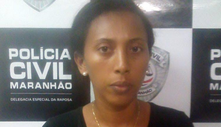 POLÍCIA CIVIL CUMPRE MANDADO DE PRISÃO DE ACUSADA DE ESTUPRO DE VULNERÁVEL NO MUNICÍPIO DE RAPOSA NO MARANHÃO
