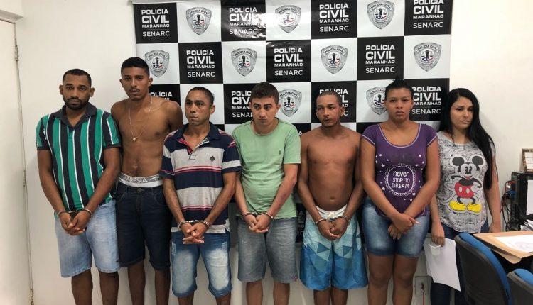 POLÍCIA CIVIL PRENDE SETE MEMBROS DE ORGANIZAÇÃO CRIMINOSA VOLTADA PARA O TRÁFICO DE DROGA NA REGIÃO METROPOLITANA