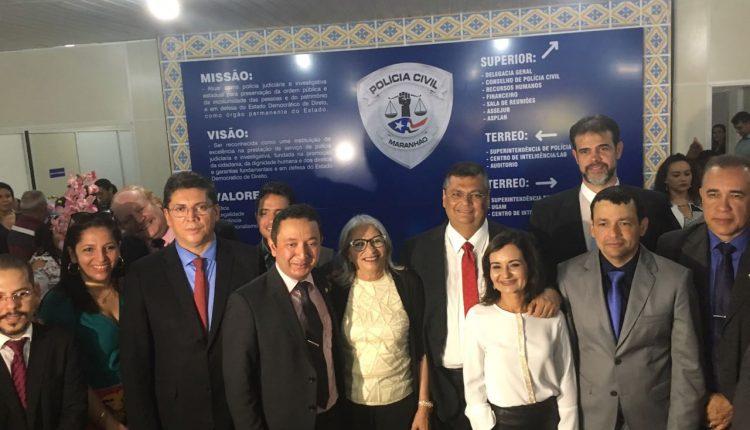 INAUGURADA A 1ª SEDE DA POLÍCIA CIVIL DO ESTADO DO MARANHÃO