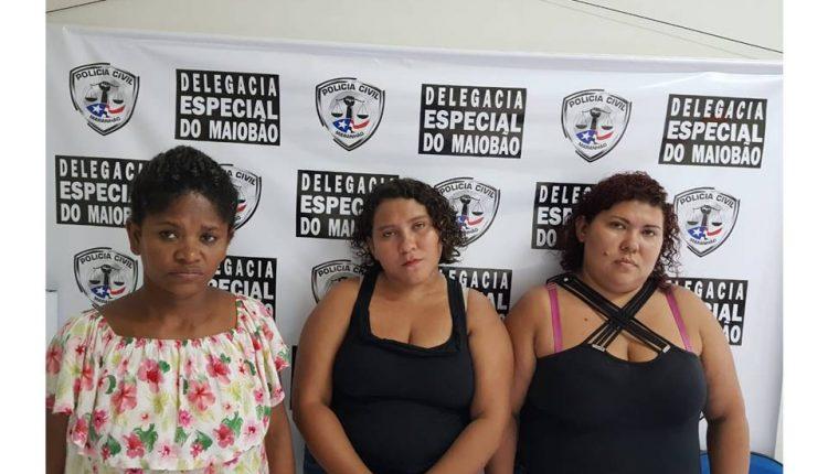 POLÍCIA CIVIL DO MARANHÃO PRENDEU TRIO ACUSADO DE ESTELIONATO EM PAÇO DO LUMIAR