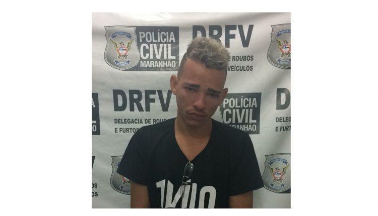 POLÍCIA CIVIL CUMPRE MANDADO DE PRISÃO POR ROUBO A VEÍCULOS EM SÃO LUÍS