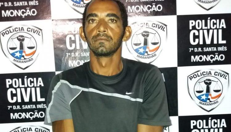 A POLÍCIA CÍVIL DO MARANHÃO ATRAVÉS DA DELEGACIA DE MONÇÃO/7ª DRPC/SI CUMPRE MANDADO DE PRISÃO