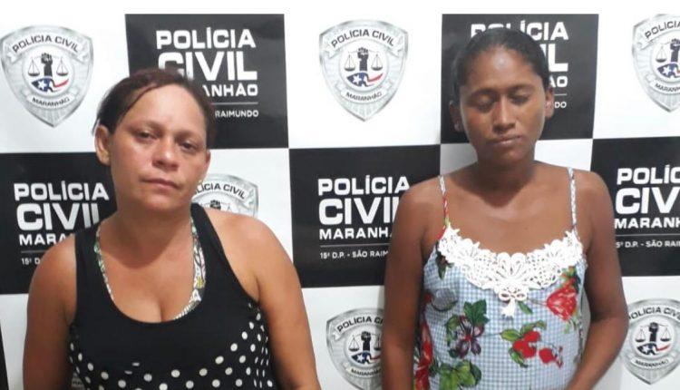 POLÍCIA CIVIL PRENDE DUAS MULHERES SUSPEITAS POR FURTO EM ESTABELECIMENTO COMERCIAL EM SÃO LUÍS