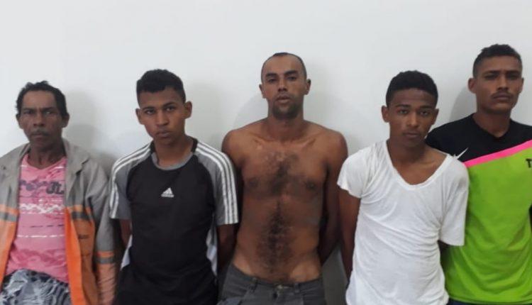 CINCO PESSOAS SÃO PRESAS PELA POLÍCIA CIVIL SUSPEITAS DE GERENCIAR O TRÁFICO DE DROGAS EM SANTA RITA
