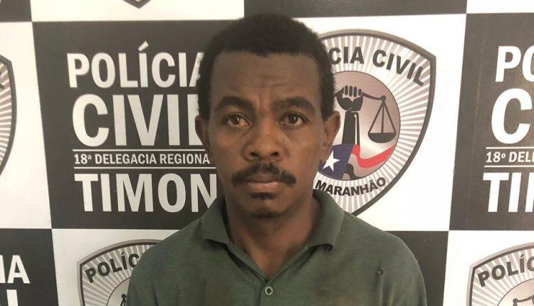 POLÍCIA CIVIL PRENDE HOMEM SUSPEITO DE ROUBO EM TIMON