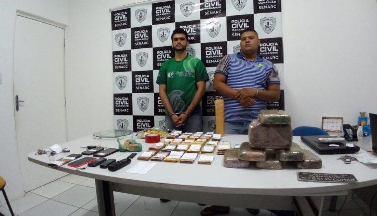 Polícia Civil apreende 10 kg de crack e mais de 20 mil reais em estabelecimento na Cohab.