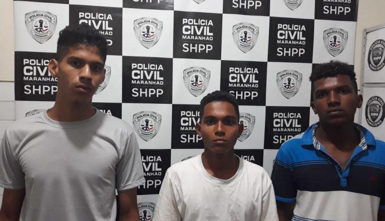 POLÍCIA CIVIL CUMPRE MANDADOS DE PRISÃO DE TRIO SUSPEITO DE HOMICÍDIO