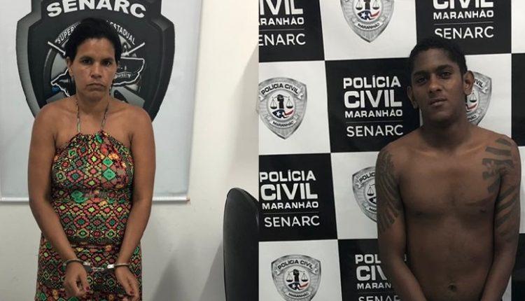 DUPLA É PRESA PELA POLÍCIA CIVIL POR TRÁFICO DE DROGAS NO BAIRRO DE FÁTIMA