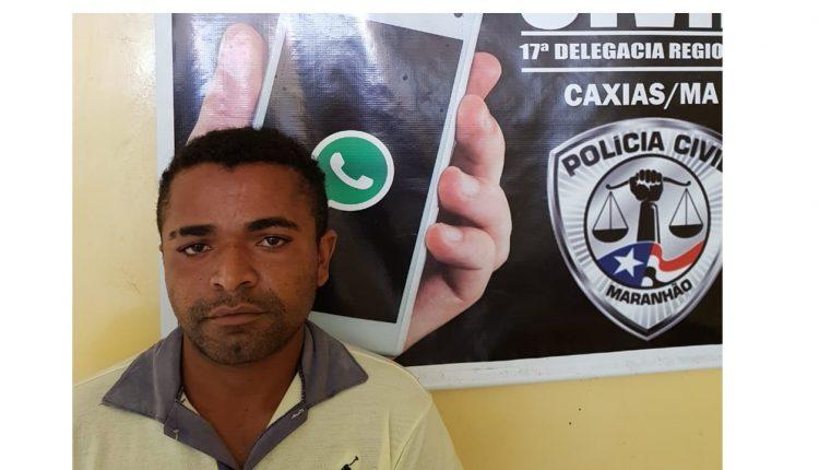Polícia Civil prende homicida no município de Caxias