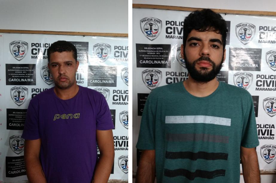 OPERAÇÃO POLICIAL PRENDE DOIS HOMENS SUSPEITOS DE FURTAR TURISTAS NA CIDADE DE CAROLINA