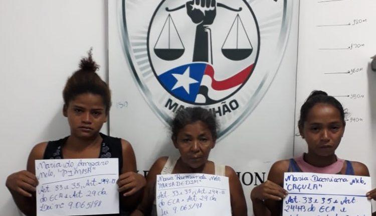 POLÍCIA CIVIL PRENDE FAMÍLIA DO CRIME POR TRÁFICO DE DROGAS EM ZÉ DOCA.