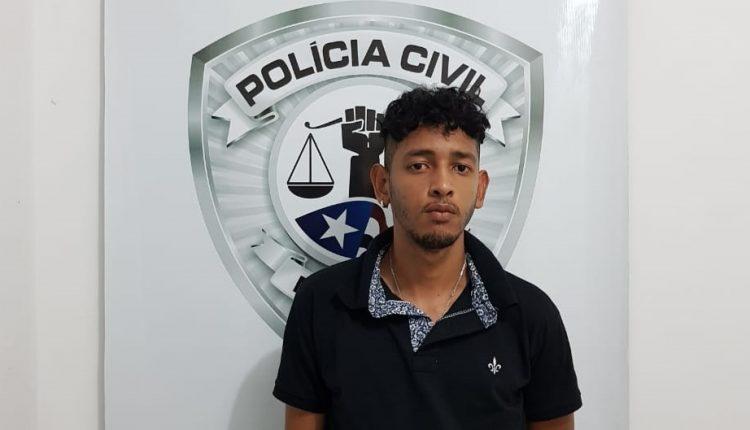 POLÍCIA CIVIL PRENDE ARROMBADOR DE RESIDÊNCIA EM PAÇO DO LUMIAR.