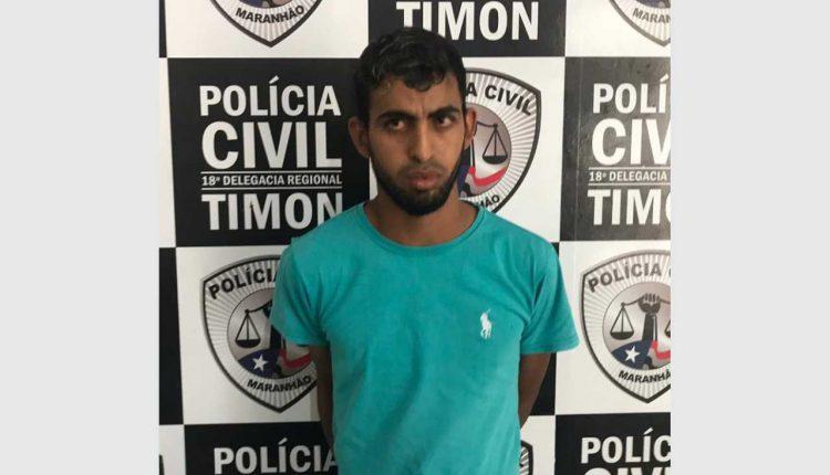 """POLÍCIA CIVIL DO MARANHÃO PRENDE HOMEM SUSPEITO DE REALIZAR """"SAPATINHO"""" NO PIAUÍ"""
