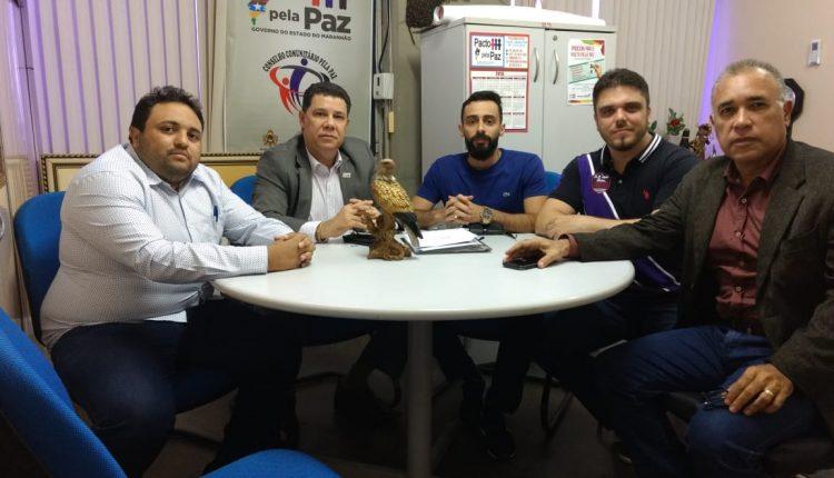 COORDENADOR EXECUTIVO DO PPP RECEBE VISITA DE REPRESENTANTES DA FAMEM