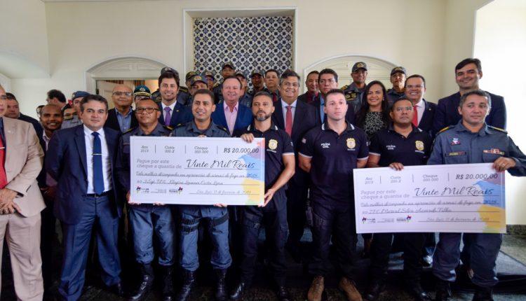 Polícia Civil recebe premiação do Governo do Estado pelo quantitativo de armas de fogo apreendidas em 2018.