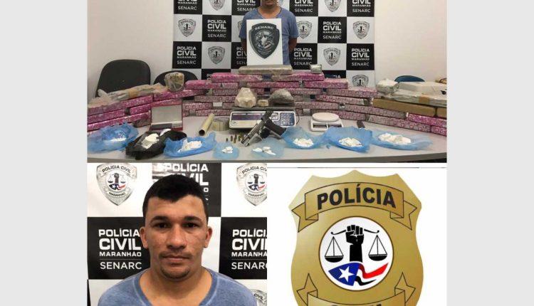 POLÍCIA CIVIL FLAGRA NO BAIRRO PARQUE VITÓRIA, ACUSADO COM ENTORPECENTES AVALIADOS EM R$ 160 MIL REAIS
