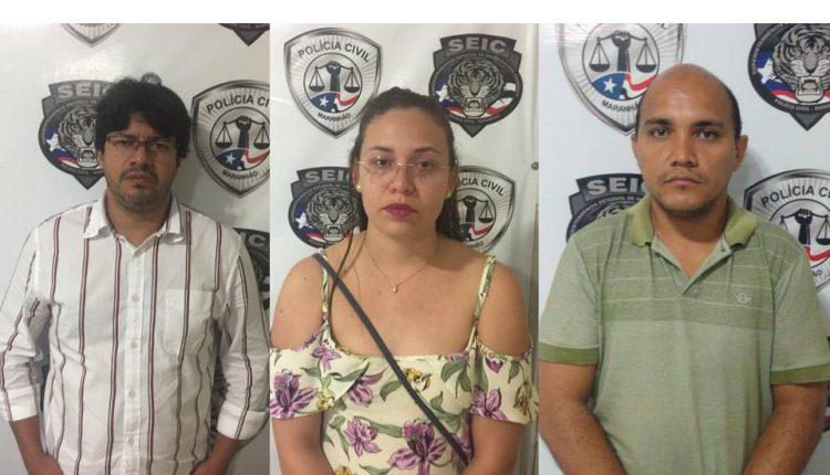 """Polícia Civil deflagra """"Operação Trojan Horse"""" e prende três fraudadores de condomínios em São Luís"""