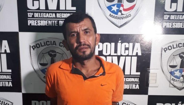 FLAGRANTE EM PRESIDENTE DUTRA: POLICIA CIVIL PRENDE HOMEM POR ROUBO MAJORADO PORTANDO ARMA DE FOGO