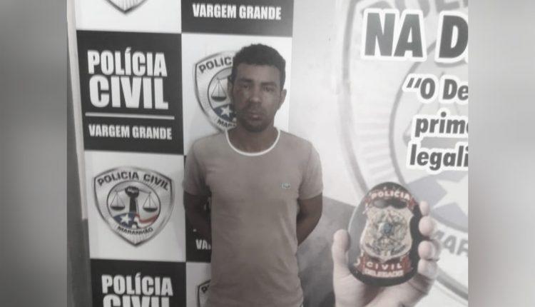 POLÍCIA CIVIL PRENDE SUSPEITO DE ESTUPRO DE VULNERÁVEL NO MUNICÍPIO DE VARGEM GRANDE