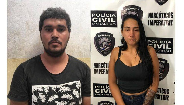 Polícia Civil do Maranhão prende mais dois acusados de tráfico de drogas
