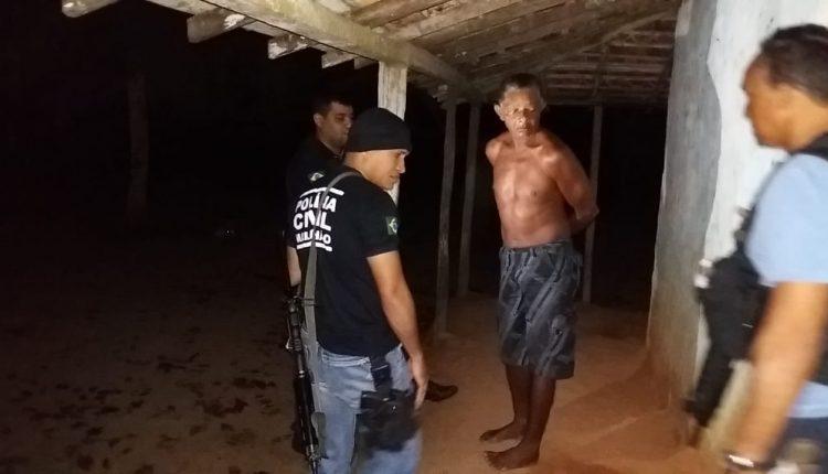 POLÍCIA CIVIL CUMPRE MANDADO DE PRISÃO POR ASSASINATO DE VEREADOR DE MARANHÃOZINHO