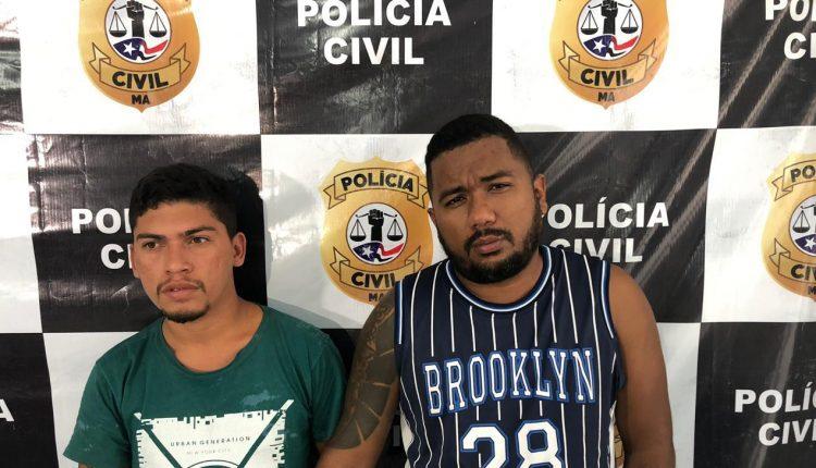 """POLÍCIA CIVIL PRENDE DOIS FORAGIDOS DO ESTADO DO PARÁ RESPONSÁVEIS POR PRATICAR """"SAIDINHAS BANCÁRIAS"""" NA CIDADE DE SÃO LUÍS/MA."""
