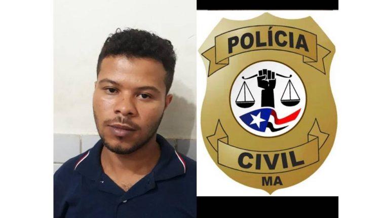 POLÍCIA CIVIL EFETUA PRISÃO DE FORAGIDO DE JUSTIÇA NO BAIRRO SÃO FRANCISCO