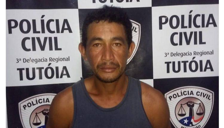 POLICIA CIVIL CUMPRE MANDADO DE PRISÃO POR HOMICIDIO EM TUTOTIA