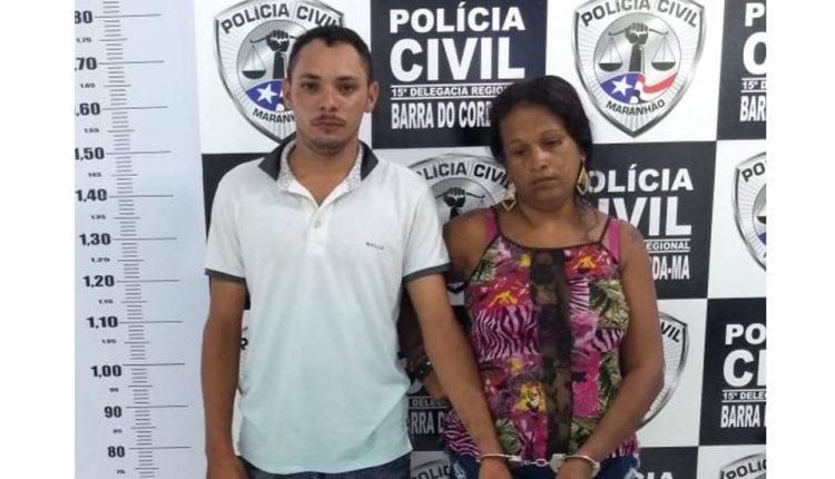 POLICIA CIVIL PRENDE CASAL POR TRAFICO DE DROGAS E ASSOCIAÇÃO AO TRAFICO EM BARRA DO CORDA