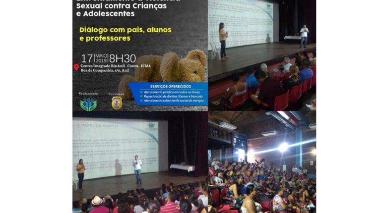 DPCA realiza palestra sobre Prevenção e Enfrentamento à Violência Sexual Contra Crianças e Adolescentes