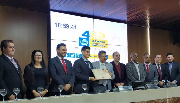 Delegado de Polícia Civil recebe o Título de Cidadão de São Luís