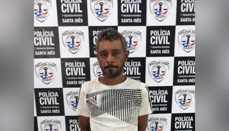 POLÍCIA CIVIL DO ESTADO DO MARANHÃO PRENDE AGRESSOR DE IDOSO EM SANTA INÊS