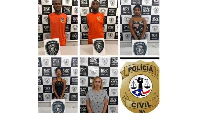 SENARC CUMPRE MANDADOS DE PRISÃO POR ASSOCIAÇÃO CRIMINOSA EM SÃO LUÍS
