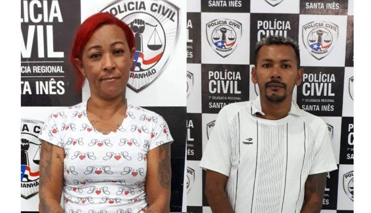 EM SANTA INÊS, CASAL É PRESO PELA POLÍCIA CIVIL SUSPEITO POR TRÁFICO DE DROGAS