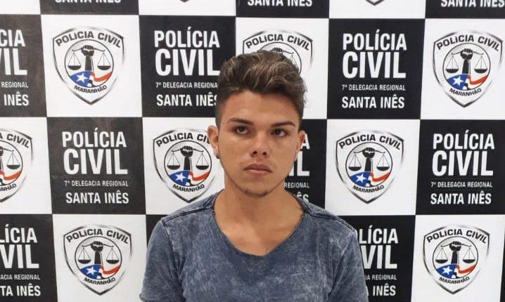 Polícia Civil do Maranhão prende, em Santa Inês, um receptador de produtos roubados e dois assaltantes