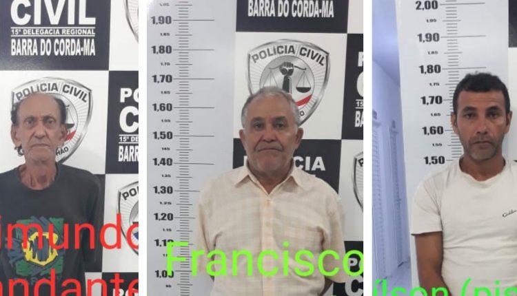 RESPOSTA RÁPIDA – POLÍCIA CIVIL ELUCIDA CASO DE DUPLO HOMICÍDIO EM BARRA DO CORDA