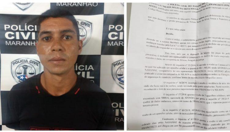 OPERAÇÃO DA POLÍCIA CIVIL PRENDE DOIS SUSPEITOS DE ENVOLVIMENTO EM CRIME DE ROUBO E LESÃO SEGUIDA DE MORTE NO INTERIOR E CAPITAL