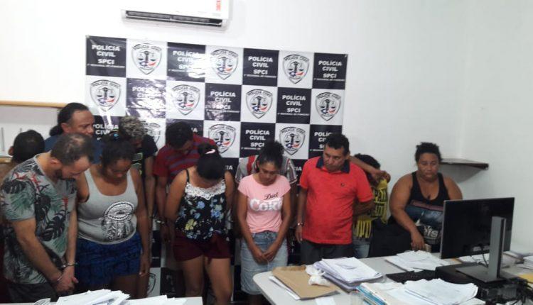 Polícias Civil e Militar realizam operação para combater o tráfico de drogas em Pinheiro
