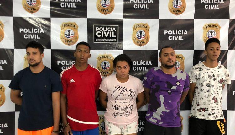 POLÍCIA CIVIL DEFLARA OPERAÇÃO CONTRA FACÇÃO CRIMINOSA E PRENDE SUSPEITOS NO MARANHÃO E NA PARAÍBA