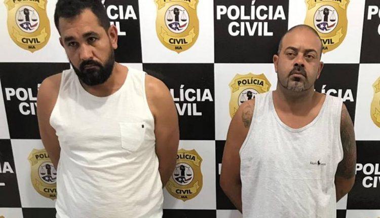 Ação conjunta das Polícias Civil do DF e Maranhão prendem dois acusados de crimes de homicídios e tráfico de entorpecentes