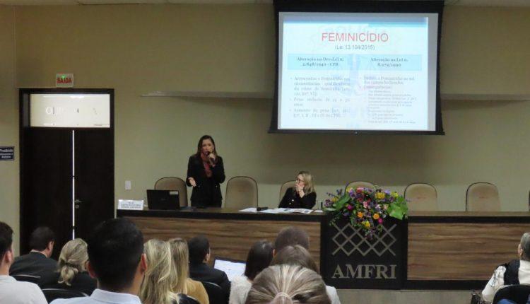 A Polícia Civil do Maranhão participa de Workshop sobre feminicídio no estado de Santa Catarina