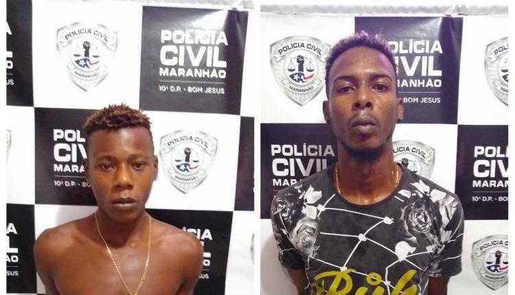 DOIS HOMENS SÃO PRESOS PELA POLÍCIA CIVIL POR HOMICÍDIO NO POLO COROADINHO