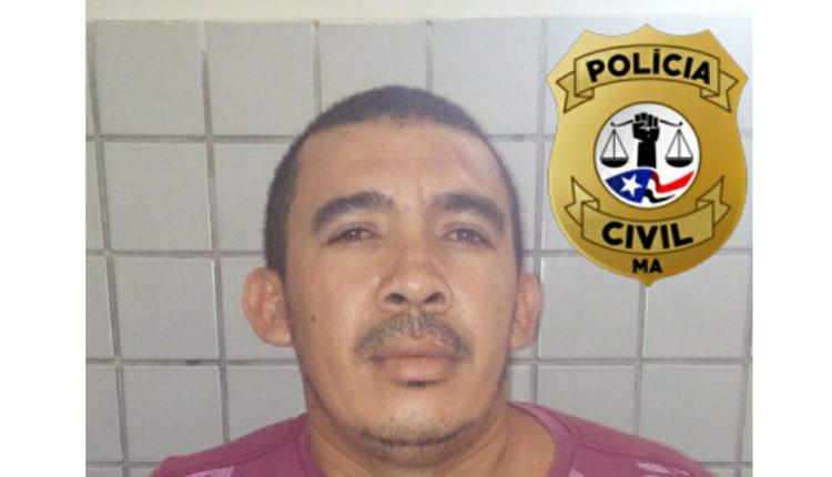 HOMICÍDIO – POLÍCIA CIVIL CUMPRE MANDADO DE PRISÃO EM ROSÁRIO