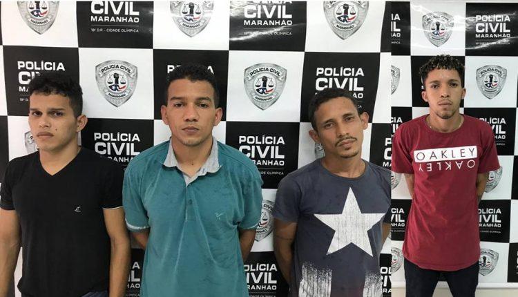 POLÍCIA CIVIL REALIZA SEGUNDA FASE DE OPERAÇÃO NA CIDADE OLIMPICA E PRENDE QUATRO INTEGRANTES DE ORGANIZAÇÃO CRIMINOSA